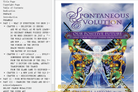 【配音频】Spontaneous Evolution: Our Positive Future (And a Way to Get There from Here) by Bruce H. Lipton , Steve Bhaerman(mobi,epub,pdf)
