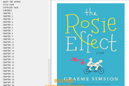 【配音频】The Rosie Effect (Don Tillman #2) by Graeme Simsion(mobi,epub,pdf)