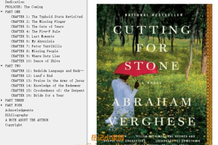 【配音频】Cutting for Stone by Abraham Verghese(mobi,epub,pdf)
