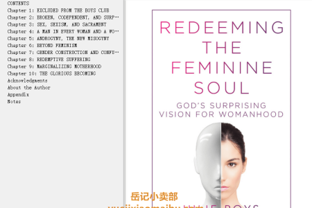 【配音频】Redeeming the Feminine Soul: God's Surprising Vision for Womanhood by Julie Roys(mobi,epub,pdf)