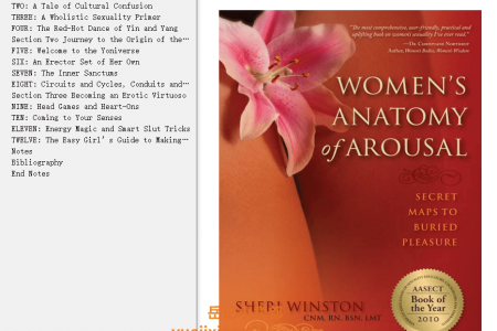 【配音频】Women's Anatomy Of Arousal: Secret Maps To Buried Pleasure by Sheri Winston(mobi,epub,pdf)