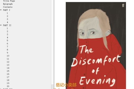 【配音频】The Discomfort of Evening by Marieke Lucas Rijneveld(mobi,epub,pdf)