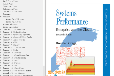 【电子书】Systems Performance 2nd Edition: Enterprise and the Cloud by Brendan Gregg(mobi,epub,pdf)