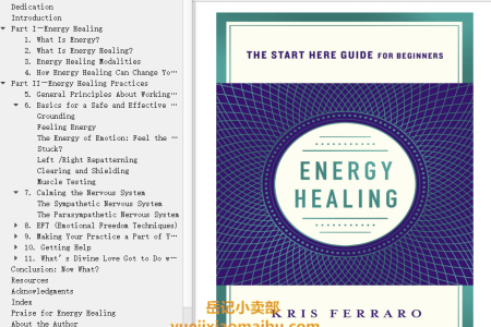 【配音频】Energy Healing: Simple and Effective Practices to Become Your Own Healer (a Start Here Guide) by Kristen Ferraro(mobi,epub,pdf)
