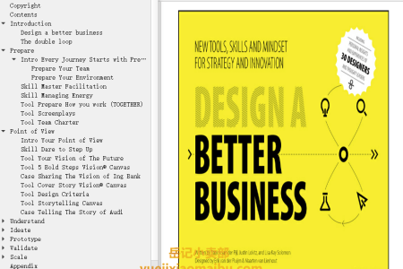 【配音频】Design a Better Business: New Tools, Skills, and Mindset for Strategy and Innovation by Patrick van der Pijl, Justin Lokitz, Lisa Kay Solomon(mobi,epub,pdf)