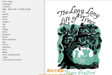 【电子书】The Long, Long Life of Trees by Fiona Stafford(mobi,epub,pdf)