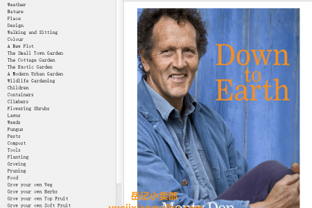 【配音频】Down to Earth: Gardening Wisdom by Monty Don(mobi,epub,pdf)