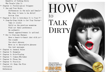 【电子书】How to Talk Dirty: The Ultimate Guide To Improve Couple's Sex Life Through Dirty Talking, Role Playing, Sexting & Much More. Learn To Have Great Sex, Make It Wilder & Mind-blowing. (500+ Examples) by Marissa Foster, Christian Murray(mobi,epub,pdf)