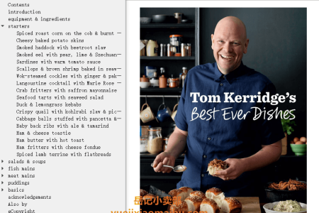 【电子书】Tom Kerridge's Best Ever Dishes by Tom Kerridge(mobi,epub,pdf)