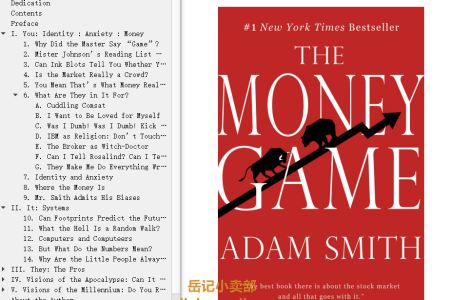 【配音频】The Money Game by Adam Smith(mobi,epub,pdf)