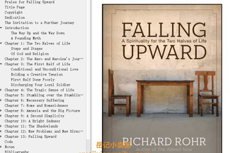 【配音频】Falling Upward: A Spirituality for the Two Halves of Life by Richard Rohr(mobi,epub,pdf)