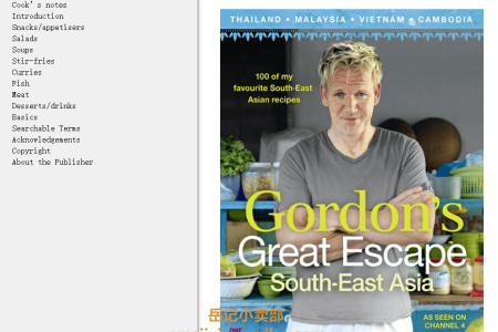 【电子书】Gordon's Great Escape Southeast Asia by Gordon Ramsay(mobi,epub,pdf)