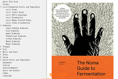 【电子书】The Noma Guide to Fermentation (Foundations of Flavor) by Rene Redzepi, David Zilber(mobi,epub,pdf)