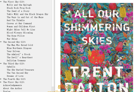 【配音频】All Our Shimmering Skies by Trent Dalton(mobi,epub,pdf)