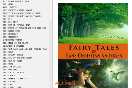 【配音频】Fairy Tales of Hans Christian Andersen (Illustrated) by Hans Christian Andersen(mobi,epub,pdf)