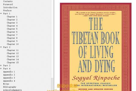【配音频】The Tibetan Book of Living and Dying by Sogyal Rinpoche(mobi,epub,pdf)