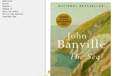 【配音频】The Sea by John Banville(mobi,epub,pdf)