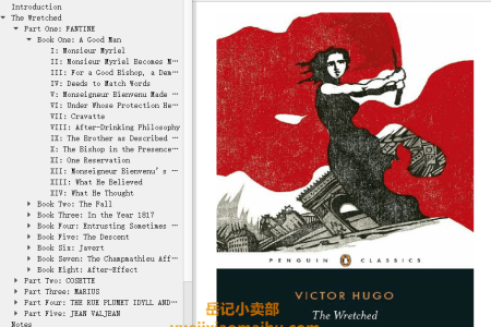 【配音频】Les Misérables(The Wretched) by Victor Hugo(mobi,epub,pdf)