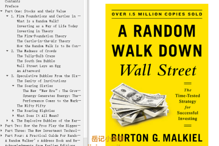 【配音频】A Random Walk Down Wall Street 11th Edition: The Time-Tested Strategy for Successful Investing by Burton G. Malkiel(mobi,epub,pdf)