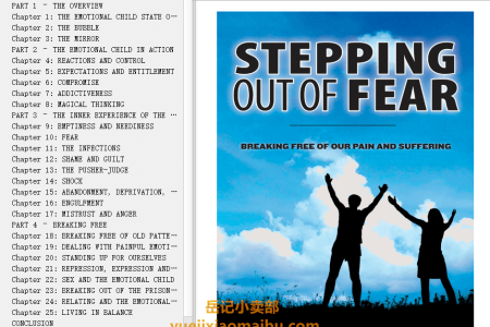 【电子书】Stepping Out of Fear: Breaking Free of Pain and Suffering by Krishnananda Trobe, Amana Trobe(mobi,epub,pdf)
