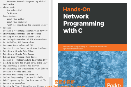【电子书】Hands-On Network Programming with C: Learn socket programming in C and write secure and optimized network code by Lewis Van Winkle(mobi,epub,pdf)
