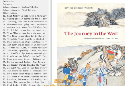 【电子书】The Journey to the West Volume 3 (The Journey to the West #3) by Wu Cheng'en(mobi,epub,pdf)