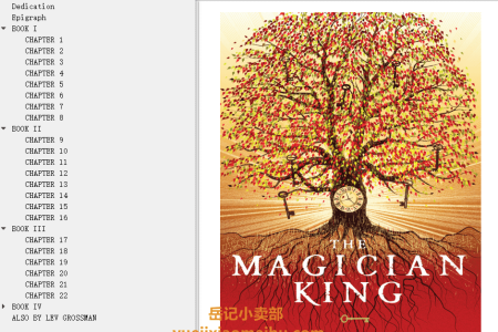 【配音频】The Magician King (The Magicians #2) by Lev Grossman(mobi,epub,pdf)
