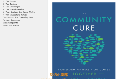 【配音频】The Community Cure: Transforming Health Outcomes Together by James Maskell(mobi,epub,pdf)