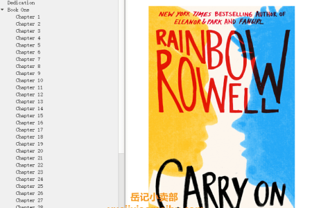 【配音频】Carry On (Simon Snow #1) by Rainbow Rowell(mobi,epub,pdf)
