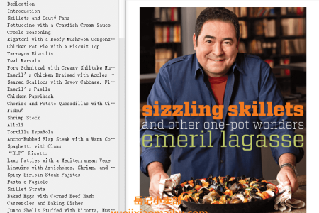 【电子书】Sizzling Skillets and Other One-Pot Wonders by Emeril Lagasse(mobi,epub,pdf)