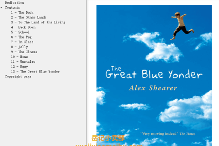 【配音频】The Great Blue Yonder by Alex Shearer(mobi,epub,pdf)