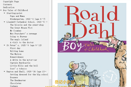 【配音频】Boy: Tales of Childhood (Roald Dahl's Autobiography #1) by Roald Dahl(mobi,epub,pdf)