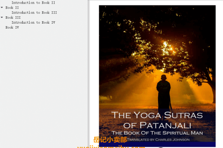 【配音频】The Yoga Sutras of Patanjali (Illustrated) by Patanjali , Charles Johnston(mobi,epub,pdf)