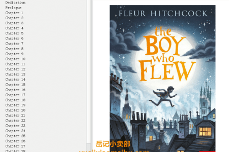 【配音频】The Boy Who Flew by Fleur Hitchcock(mobi,epub,pdf)