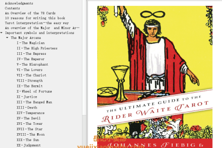 【电子书】The Ultimate Guide to the Rider Waite Tarot by Johannes Fiebig, Evelin Bürger(mobi,epub,pdf)