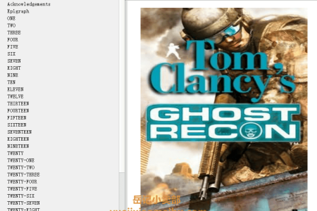 【电子书】Ghost Recon (Tom Clancy's Ghost Recon #1) by David Michaels , Grant Blackwood , Tom Clancy(mobi,epub,pdf)