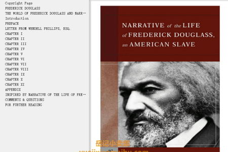 【配音频】Narrative of the Life of Frederick Douglass (The Autobiographies #1) by Frederick Douglass(mobi,epub,pdf)